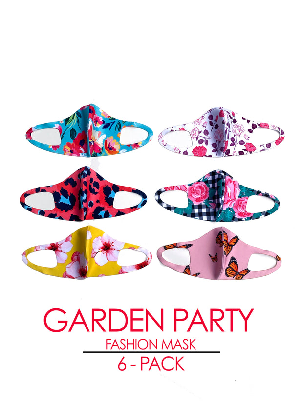 GARDEN PARTY 6-Pack Fashion Mask