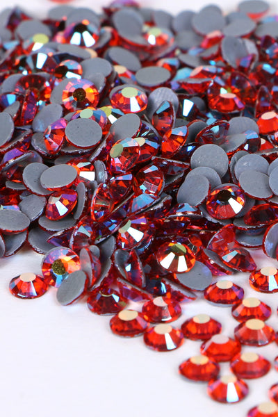 Hot Coral Rhinestones 16SS