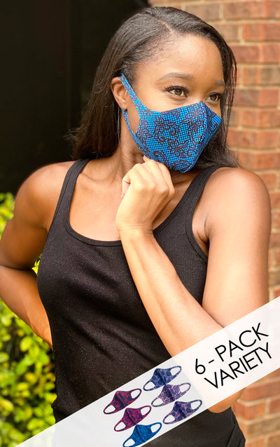 LACE 6-Pack Fashion Mask