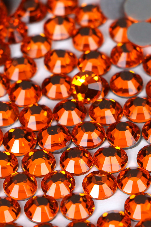 Light Orange Rhinestones 20SS