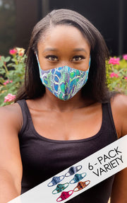 SKINS 6-Pack Fashion Mask