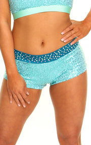 Dallas Shorts Sequin