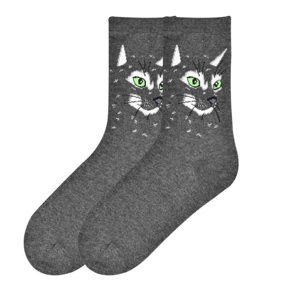 Cat Face Women sock