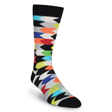 Chevron Stripes Men's sock