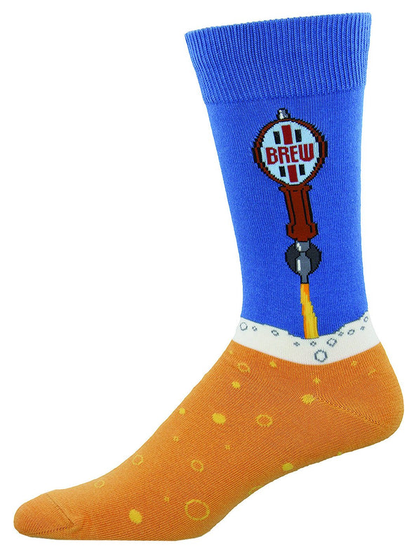 BEER TAPS Men's sock