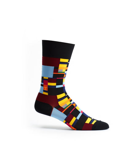 Radical Geometry Men's sock