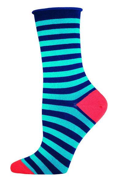 POLO STRIPE CREW Women sock
