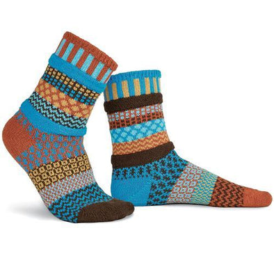 Amber Sky Women's and Men's Socks