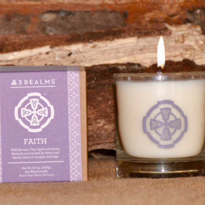 Faith Candle (Scented)