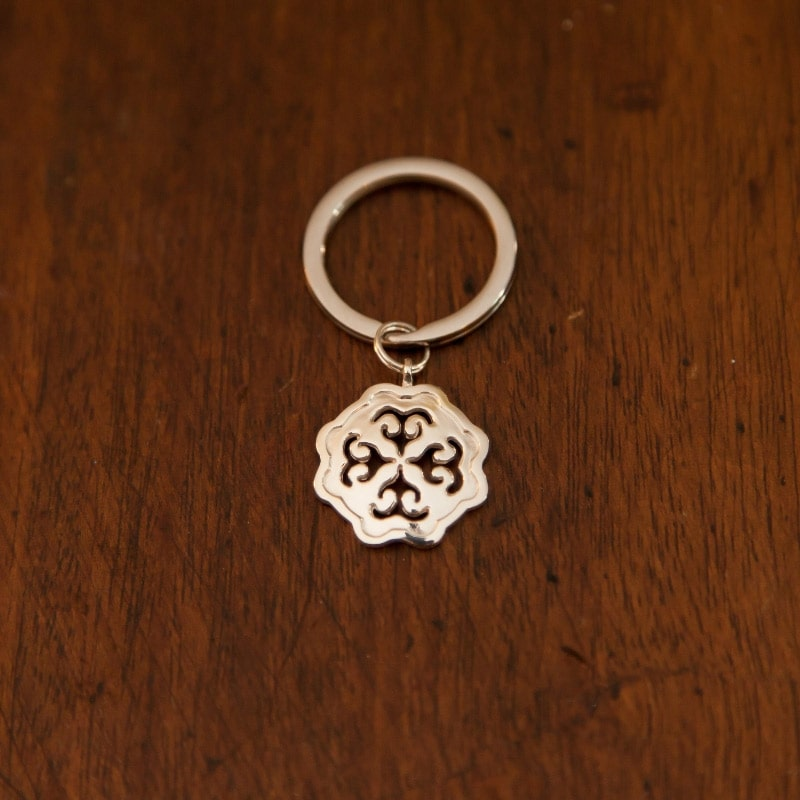 Key Ring Sterling Protection