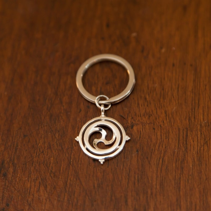 Key Ring Sterling Joy