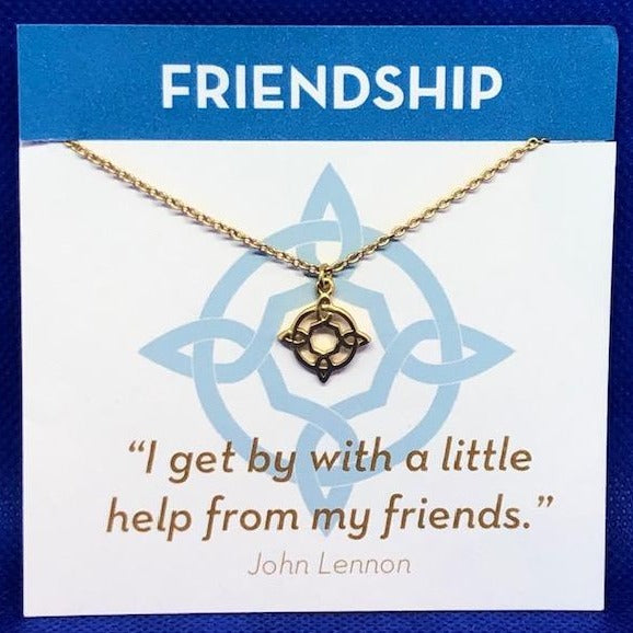 Gold Necklace Friendship