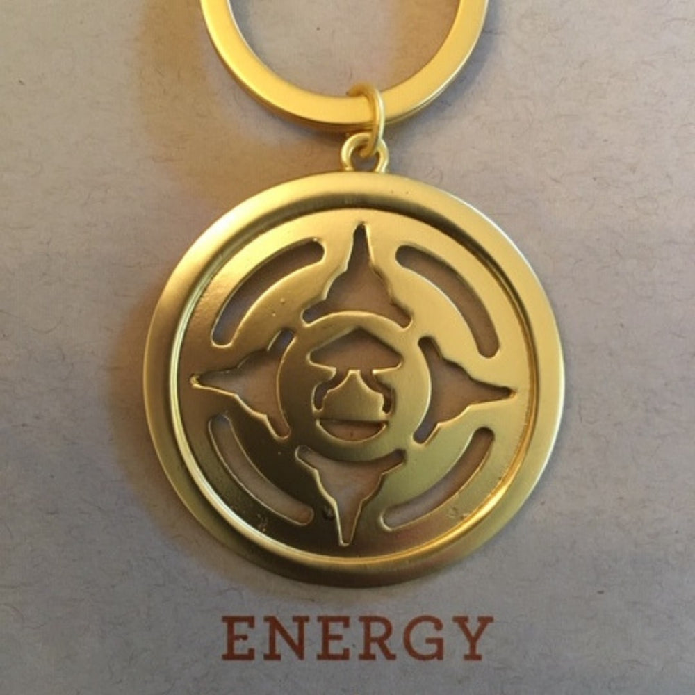 Key Ring Gold Energy