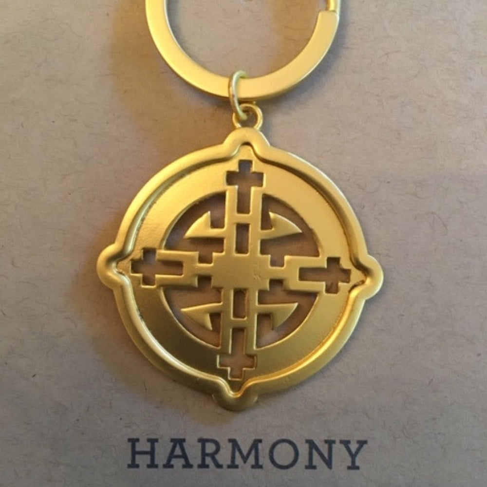 Key Ring Gold Harmony