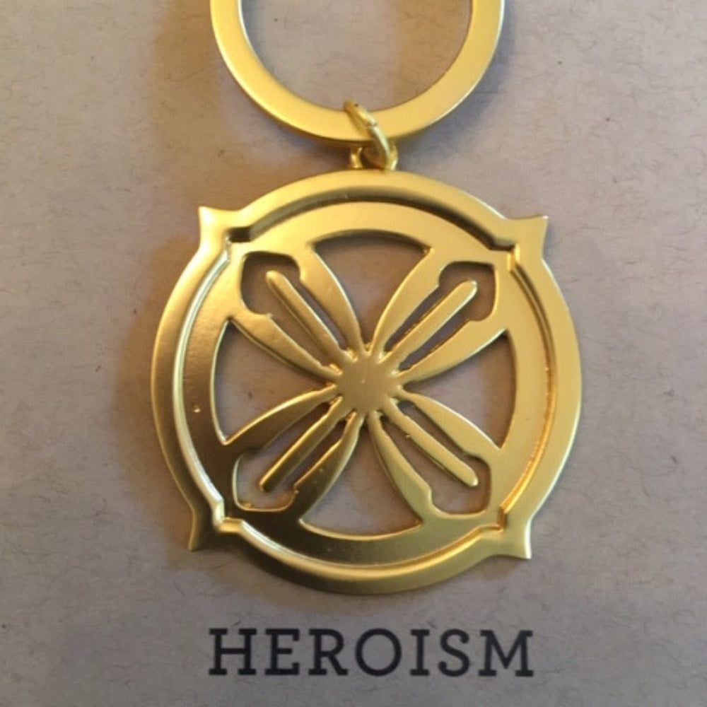 Key Ring Gold Hero