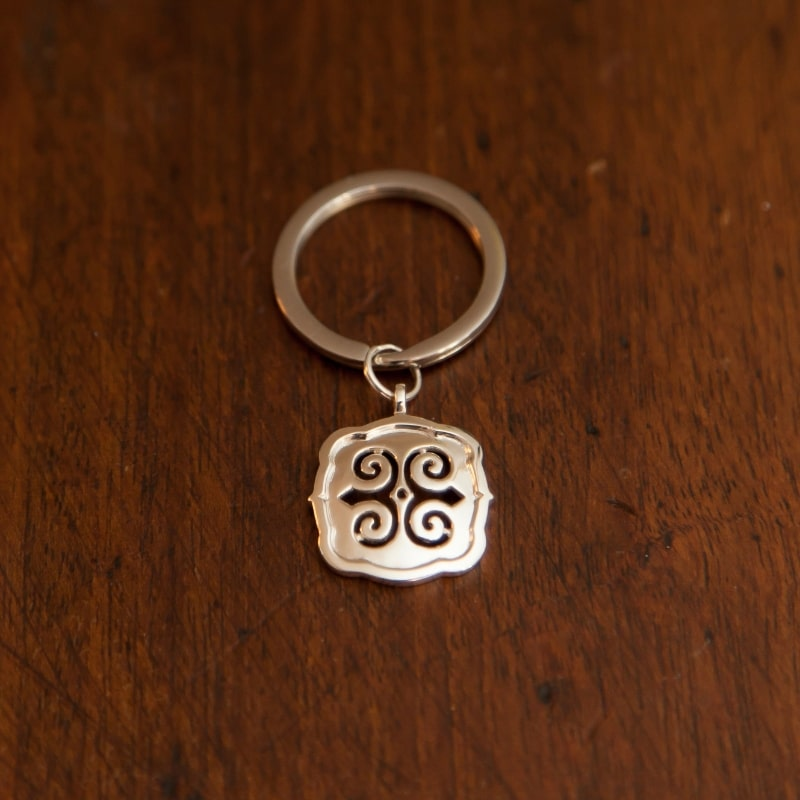 Key Ring Sterling Strength
