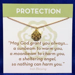 Gold Necklace Protection