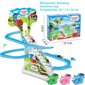 Puzzle Electric Race Train Track Spielzeug mit Musik