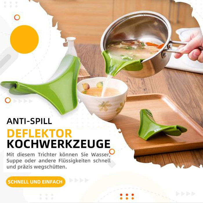 Anti-Spill Kitchenware Deflector(3PCS)