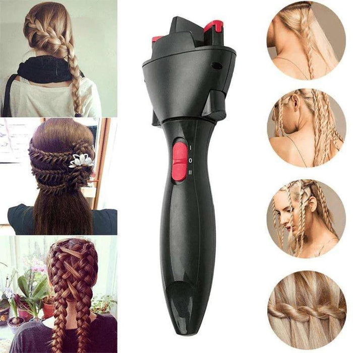 Quick Two Strands Twist Automatic Smart DIY Magic Hair Styling Tools