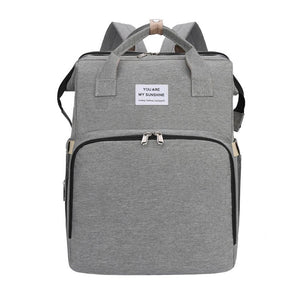 2 -In-1 Multifunktionale Reisemama-Tasche & Kinderbett
