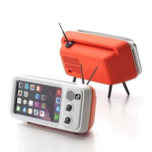 Colorful Bluetooth Lautsprecher mit Handy Ständer Dock Portable