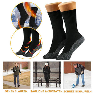 Winter Warme Füße Warme Socken, 2 parr