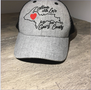 Trucker Ball Cap - Made With Love