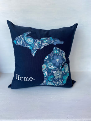 Michigan Home 18 inch Pillow