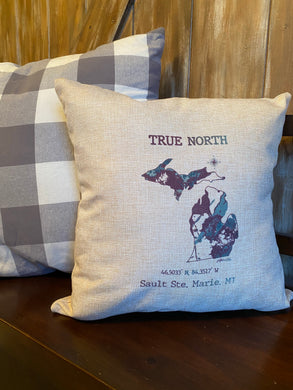 True North Sault Pillow