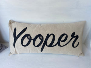 Yooper Lumbar Pillow