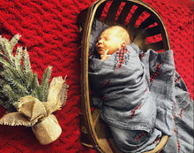 Load image into Gallery viewer, Made With Love Buffalo Plaid Swaddle