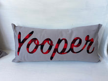 Load image into Gallery viewer, Yooper Lumbar Pillow