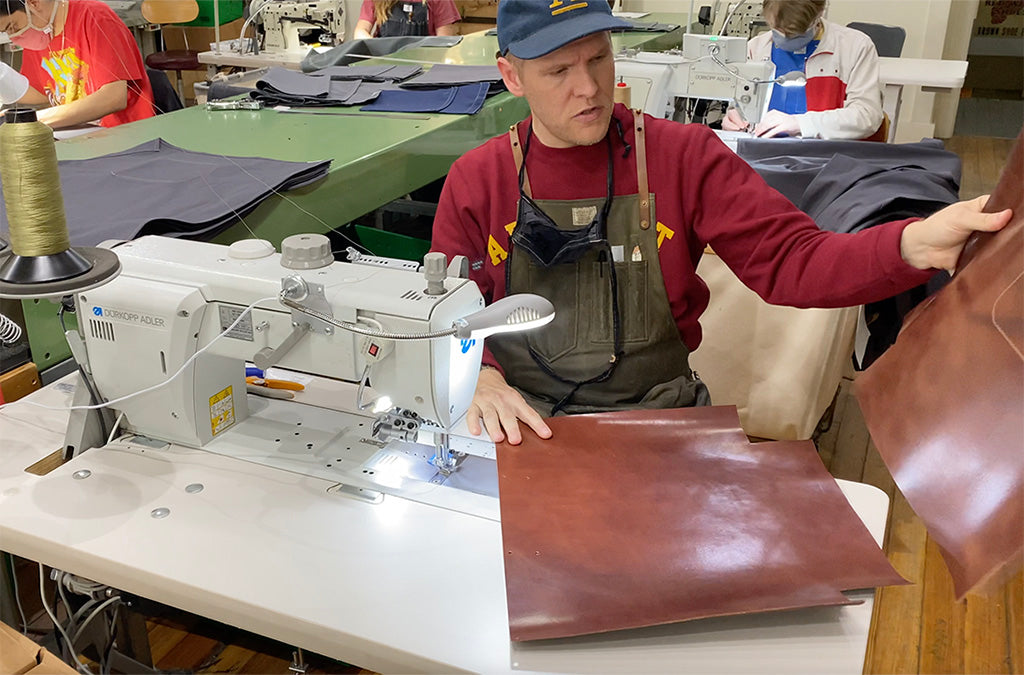 Studio Tour: Designing & Making a Leather Tote