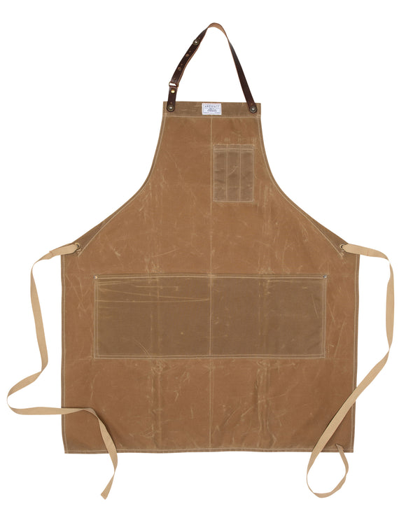 448H Bosc Pear Wax Cotton Apron