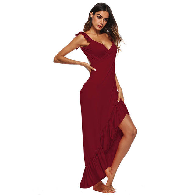 2019 New arrival women's beach dress summer beach cover ups