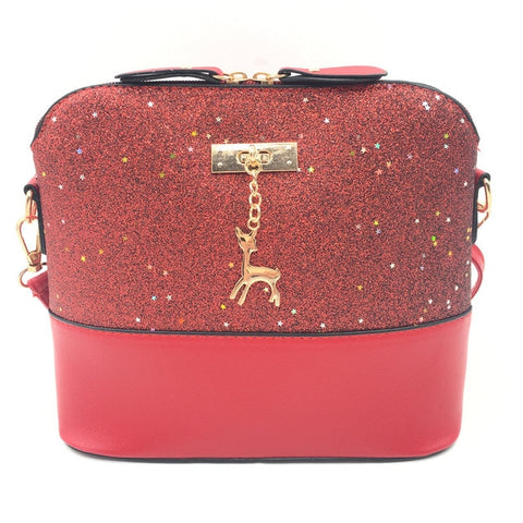 Image of Women Shoulder Bags Fashion Mini Bag With Deer Toy Shell Shape
