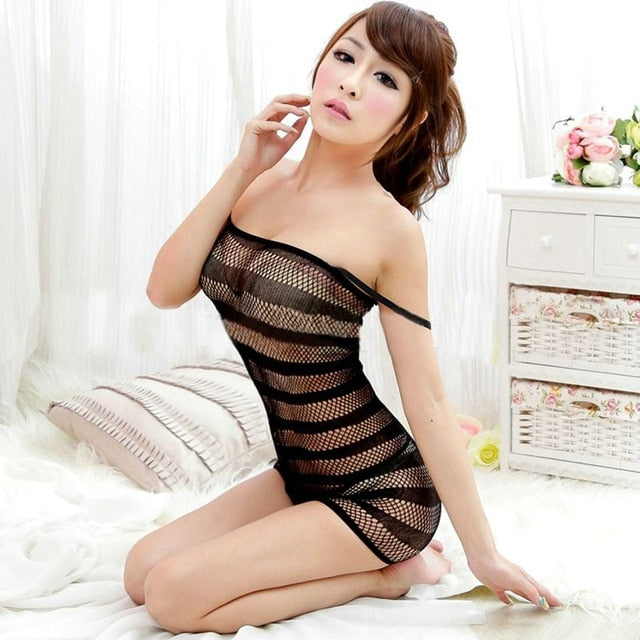 Brand New Libido Lingerie Swimsuit  Fishnet