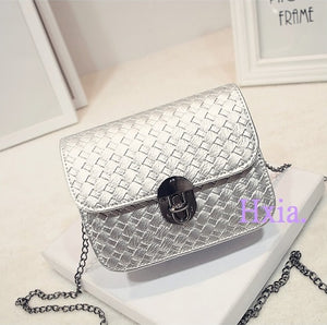 New chain handbags, tide small square package,