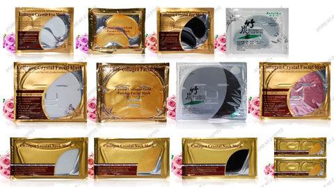 Image of (3 Pack) 24k Gold Lip Plump Mask