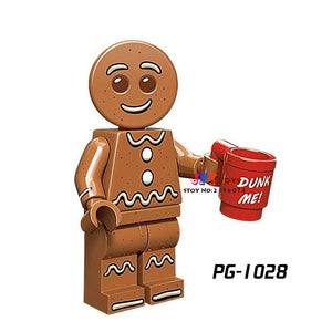 Single Star wars super heroes Series Gingerbread