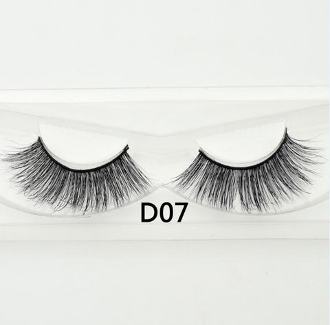 Image of Free eyelashes 3D mink eyelashes long lasting