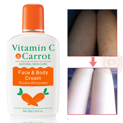 Vitamin C Carrot Bleaching Face Body Cream