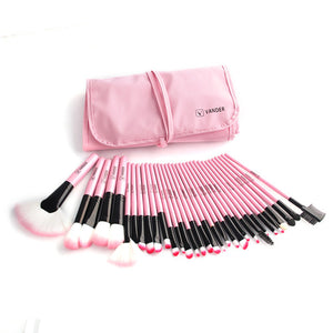 VANDER 32Pcs Set Professional Makeup Brush w/ Bag