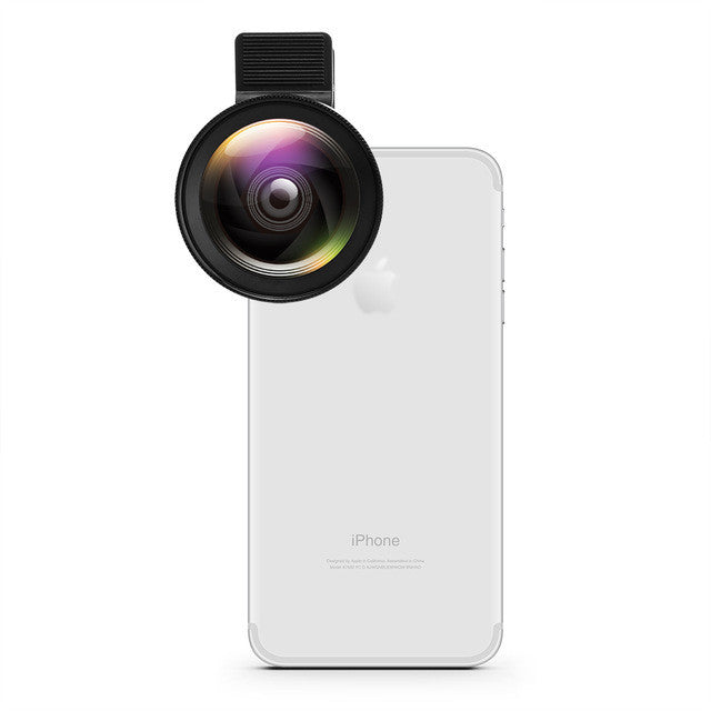 Powstro Phone Camera Lens 2 in 1 Professional HD Lens