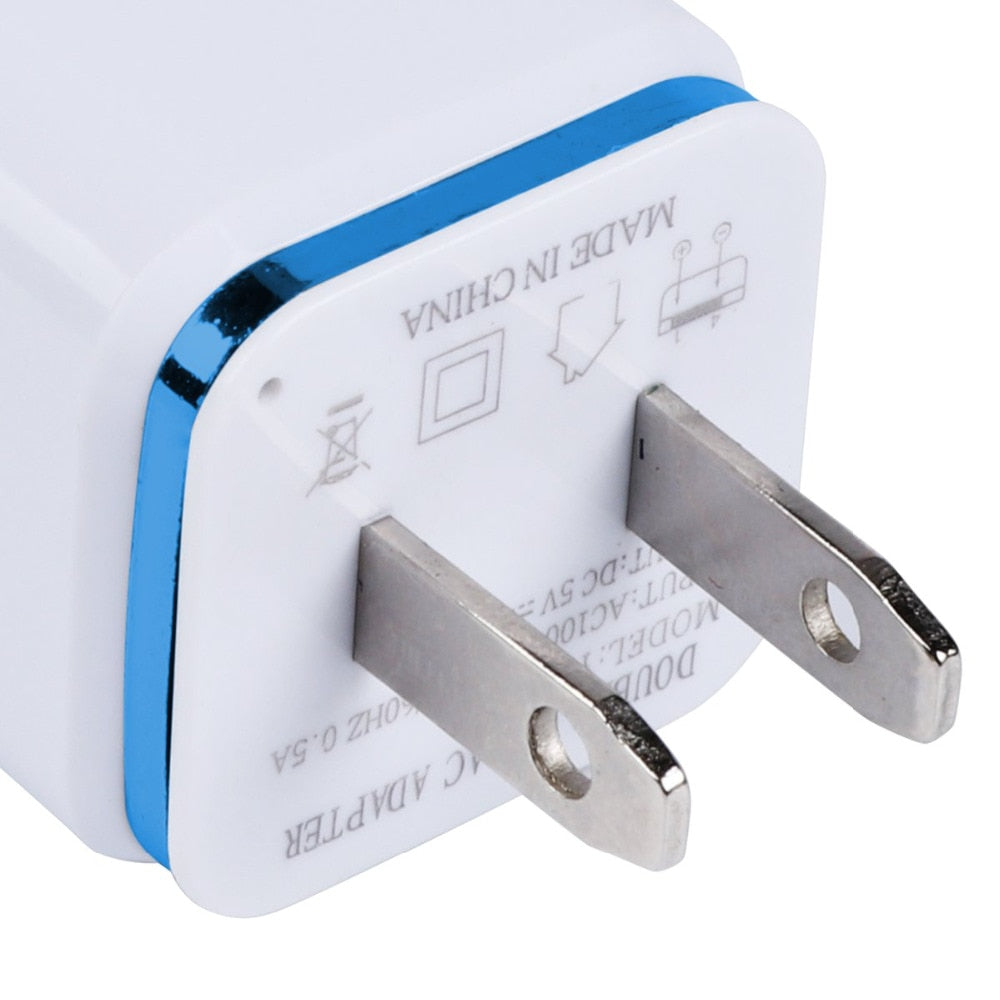 Dual USB Cell Mobile Charger