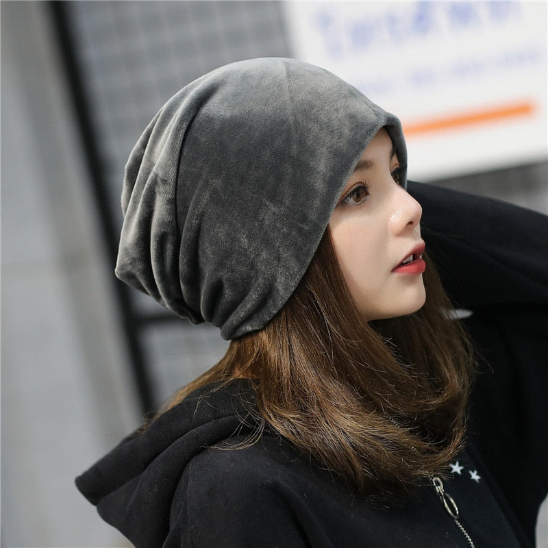 Warm Slouch Hip Hop Hats