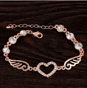 Hot Round Crystal Jewelry charm bracelet & Bangles anklet for women