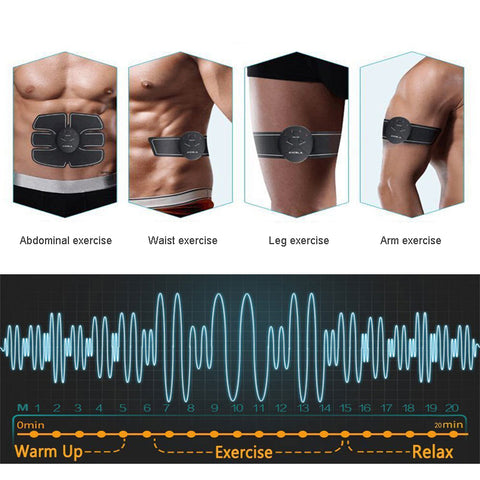 Abdominal Muscle Trainer, Wireless Electronic Stimulator