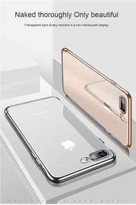 Silicon Clear Soft Case for iPhone X 10 XS